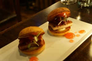 entree - pork belly sliders