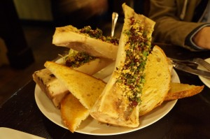 appetizer - bone marrow
