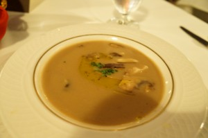 soup - truffle soup