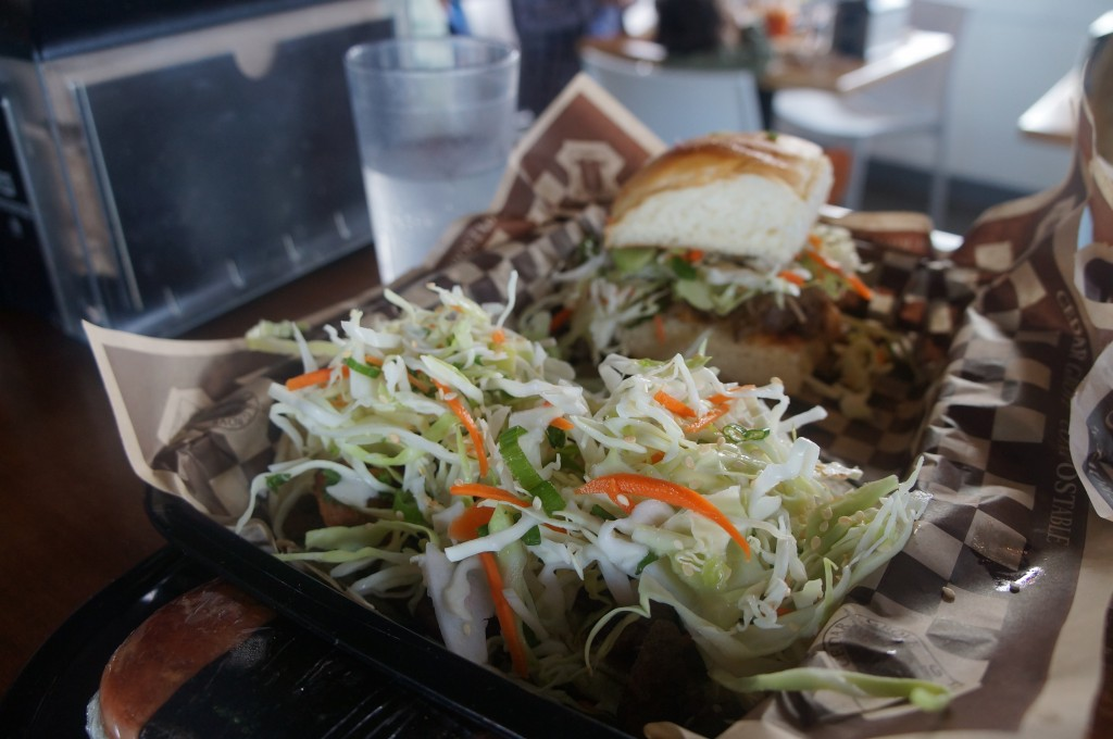 marination ma kai - tacos, pulled pork slider