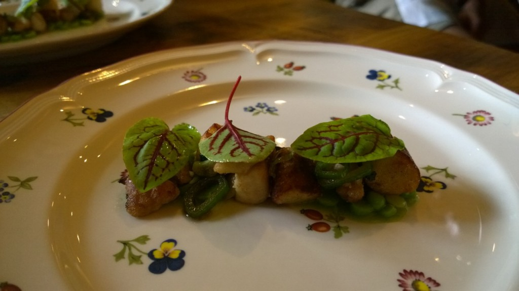 restaurant marron - sweetbreads