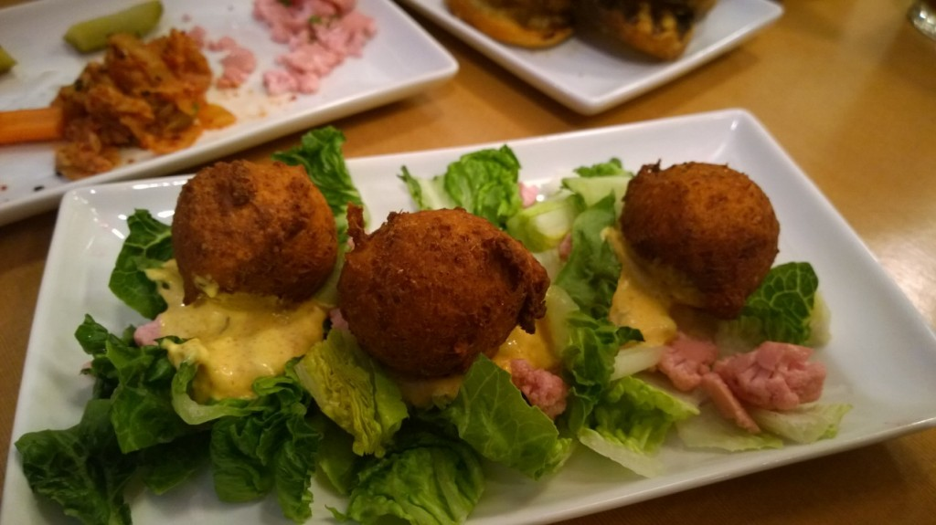 porkchop & co - chickpea fritters