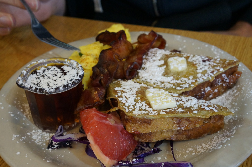 Glo's - pumpkin french toast