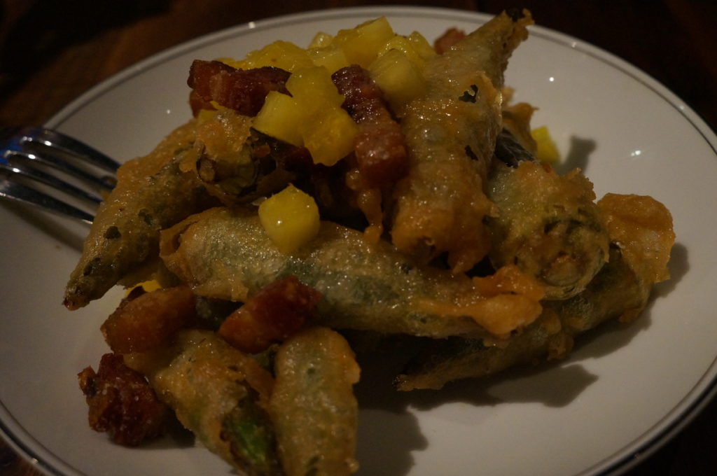Salare - fried okra
